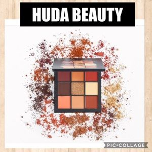 NEW HUDA BEAUTY Obsessions Eye Palette Warm Brown